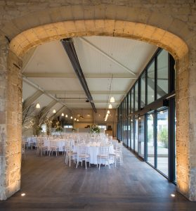 Barn wedding venues have a mix of old buildings and contemporary spaces